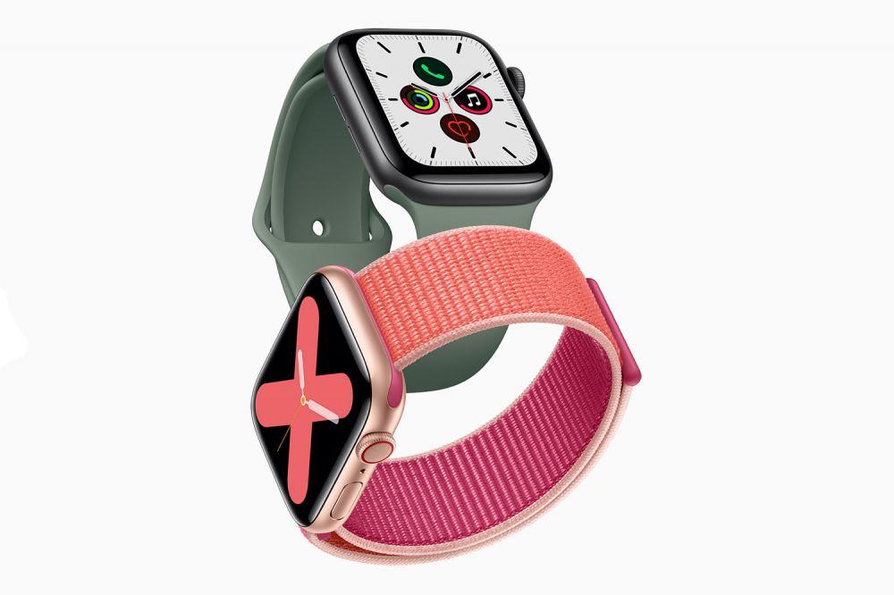اپل واچ سری 5 با نمایشگر همیشه روشن رونمایی شد.